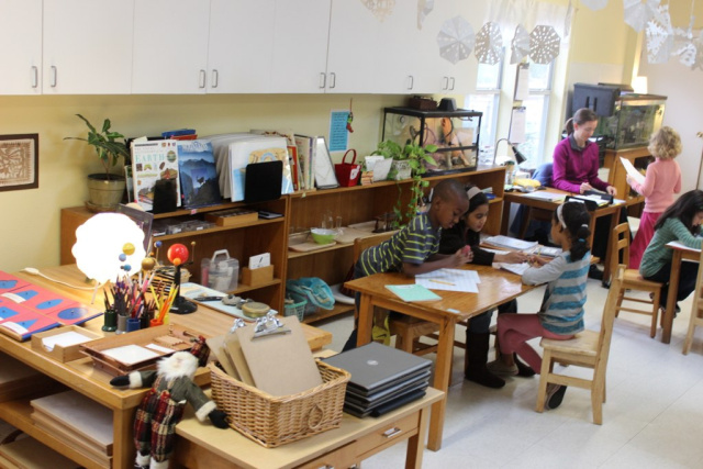 East Dallas Community School, Texas. Photo: Keith Whitescarver, National Center for Montessori in the Public Sector