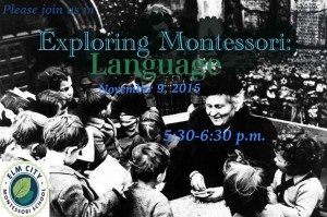 exploring Montessori Language